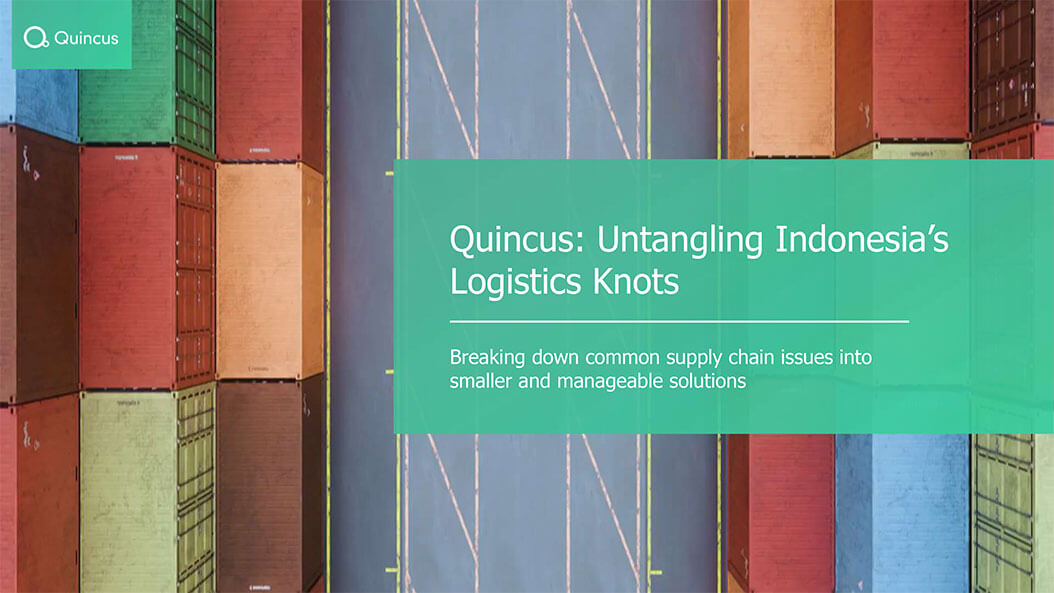 News Azka: Quincus dan SimpliDOTS ingin majukan logistik Indonesia