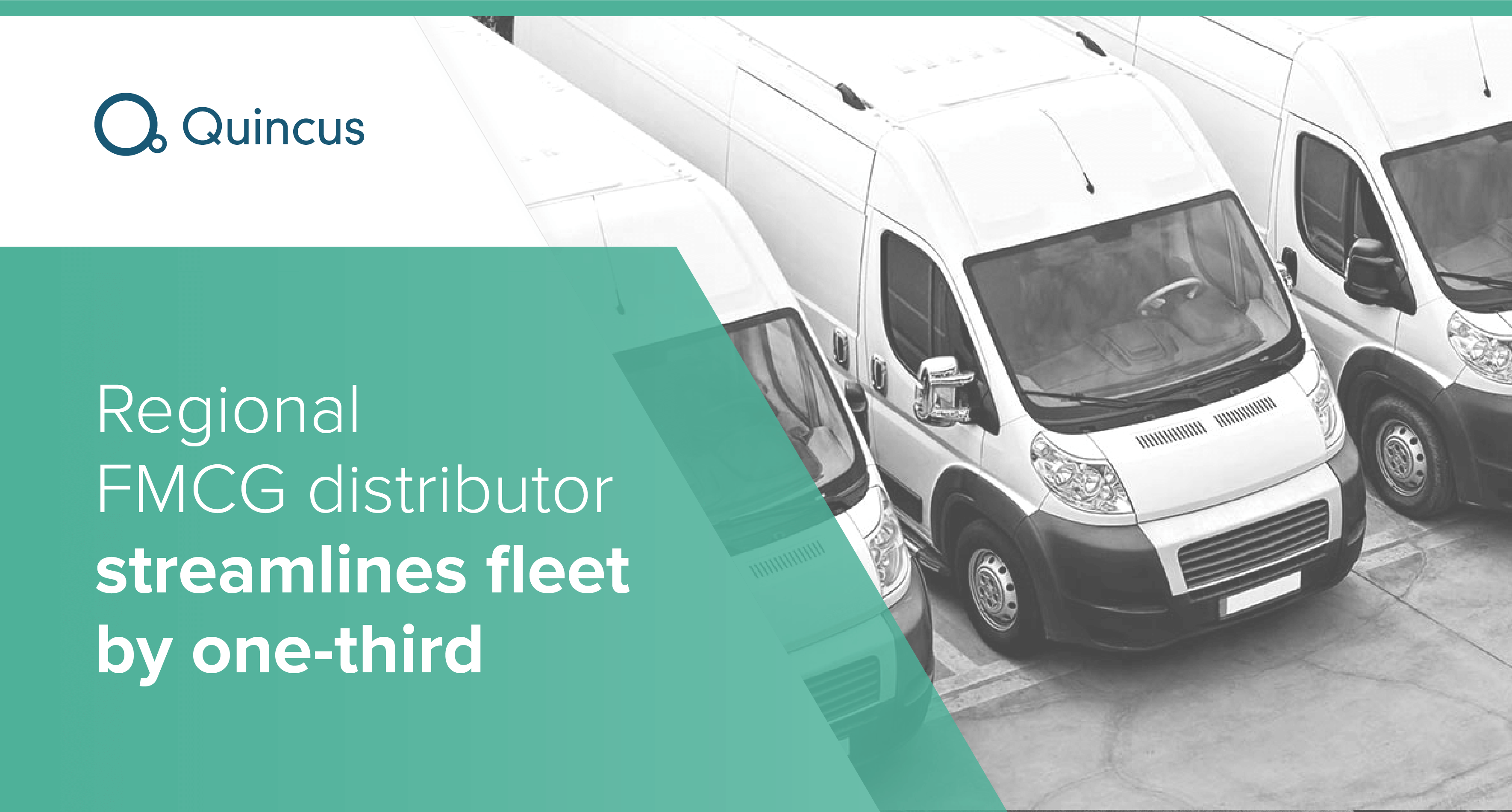 Regional FMCG distributor streamlines fleet by one-third
